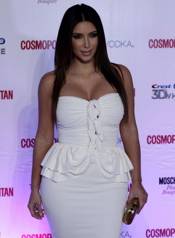 Kim Kardashian – 40th anniversary of Cosmopolitan magazine 2012 in Mexico